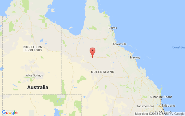 Bank of America QLD Map